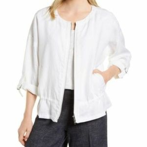 Eileen Fisher Drawstring Jacket